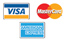 Visa, Mastercard and American Express accepted
